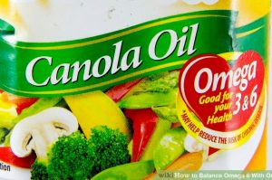 Anti inflammatory Canola Oil Rich in Omega 3 and 6