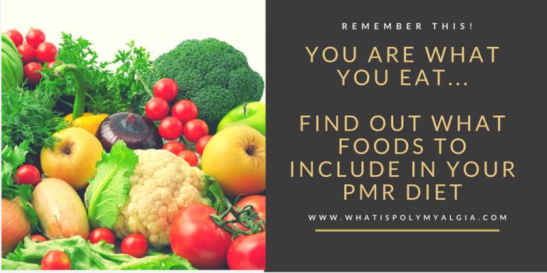 Anti Inflammatory Foods in PMR Diet